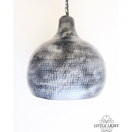 Seher Moroccan Hand Hammered Light Pendant, Moroccan lighting, Little Light Bazaar