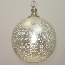 Shireen Pierced Moroccan Pendant, Moroccan lighting, Little Light Bazaar
