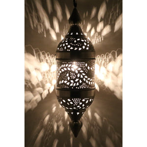 Tangier Moroccan Pendant (Plug in), Moroccan lighting, Little Light Bazaar