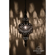 Taza Moroccan Lantern (Plug in), Moroccan lighting, Little Light Bazaar
