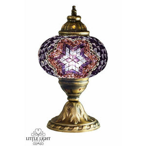 Violet Delight (Medium Globe), Moroccan lighting, Little Light Bazaar