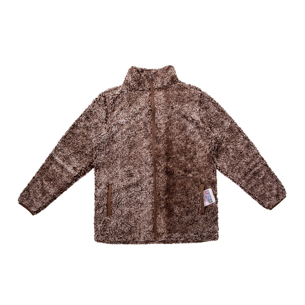 Brown Wholesale Sherpa JACKET for Women