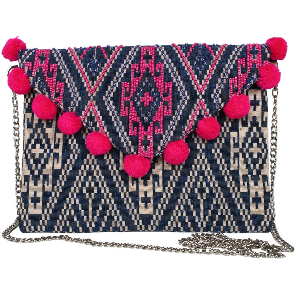 Shoulder Bag or Clutch Purse