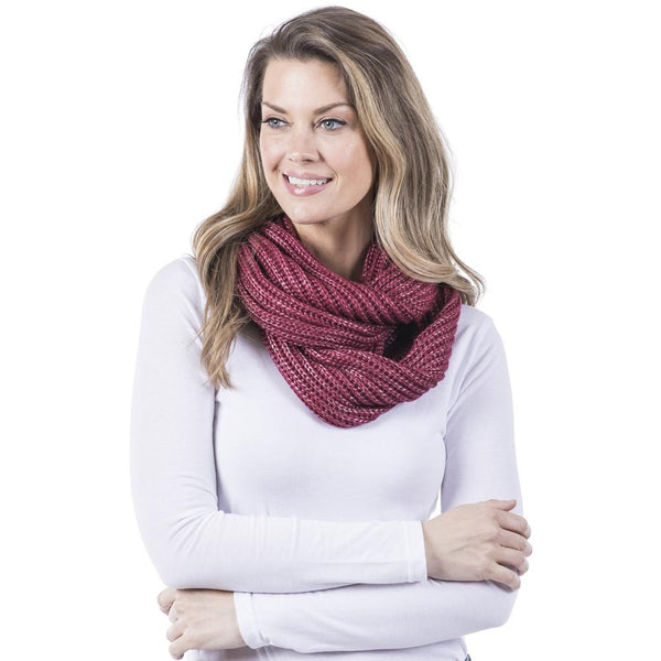 Green Infinity Scarf for Women