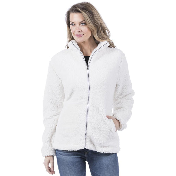 Cream Wholesale Sherpa JACKET for Women