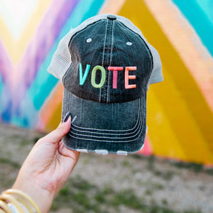 Vote Women's Trucker Hat