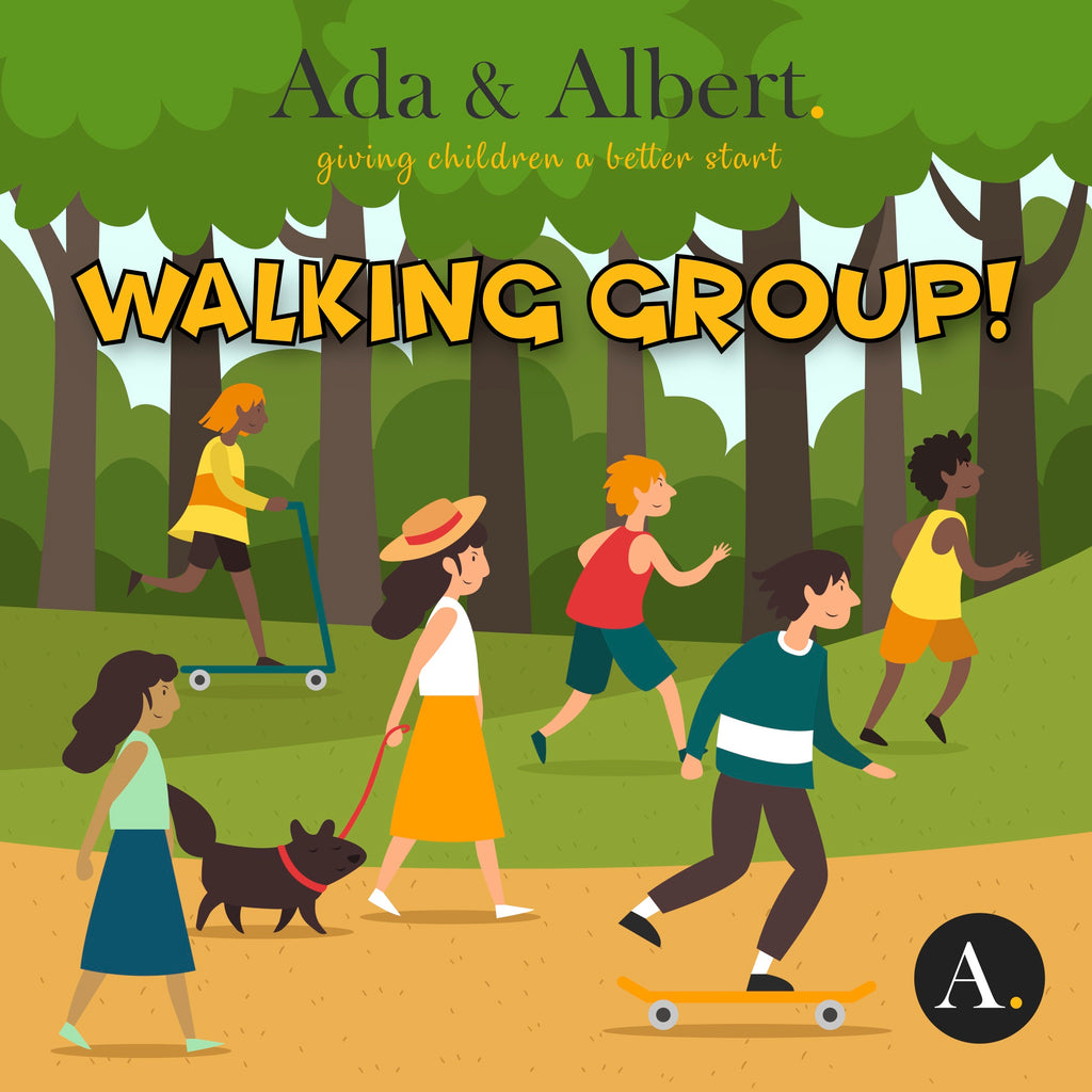Get walking with Ada & Albert