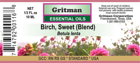 Birch, Sweet (Blend) Essential Oil
