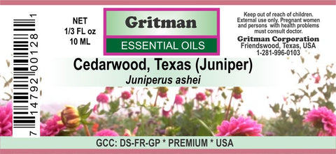Cedarwood, Texas Essential Oil