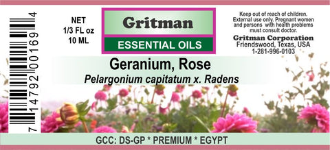 Geranium, Rose Essential Oil