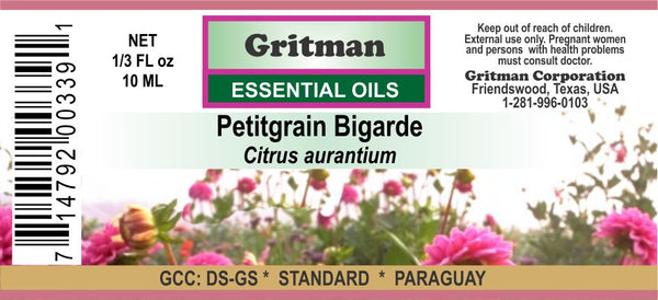 Petitgrain Bigarde Essential Oil