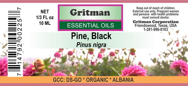 Pine, Black Essential Oil (Organic)