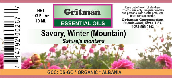 Savory, Winter Essential Oil
