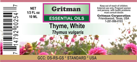 Thyme, White Essential Oil