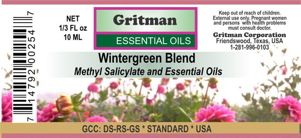 Wintergreen Oil Blend