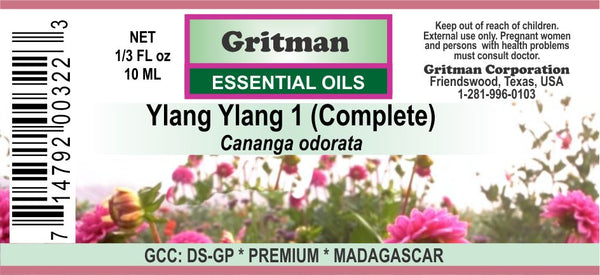 Ylang Ylang No.1 (Complete) Essential Oil