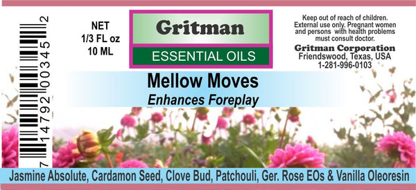 Mellow Moves Essential Oil Blend (1/3 oz)