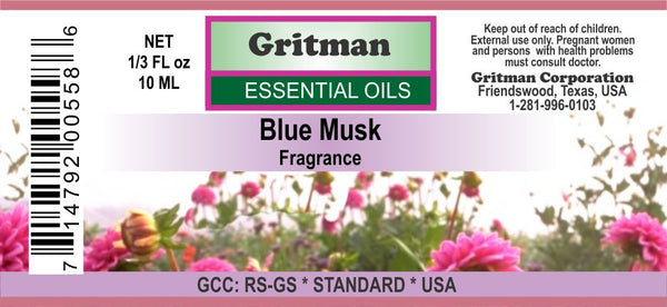 Blue Musk Fragrance (1/3 oz)