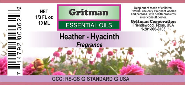 Heather-Hyacinth Fragrance (1/3 oz)