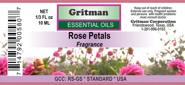 Rose Petal Fragrance (1/3 oz)