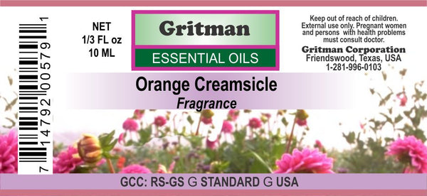 Orange Creamsicle Fragrance (1/3 oz)