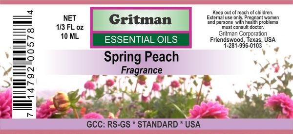 Peach Spring Fragrance (1/3 oz)
