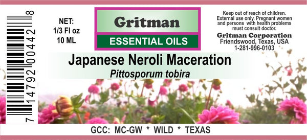 Japanese Neroli Maceration
