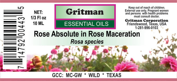 Rose Absolute in Rose Maceration
