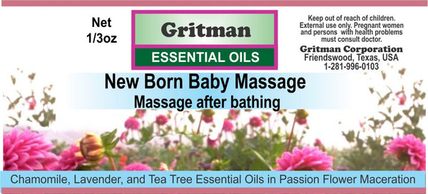 New Born Baby Massage (1/3 oz)