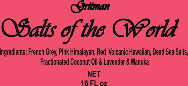 Salts of the World: Lavender Manuka 16 oz