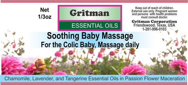 Soothing Baby Massage (1/3 oz)