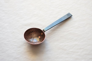 Hand Hammered Aged Copper Scoop