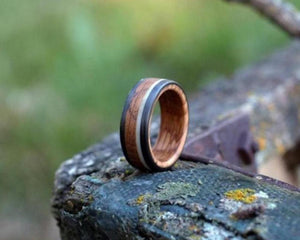 Bound Whiskey & Antler Ring