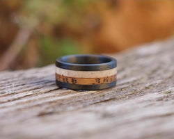 The Symm - Whiskey Barrel Antler Ring