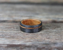 The Acorn – Bound Whiskey Barrel Ring