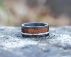The Arizona – Desert Ironwood and Antler Ring