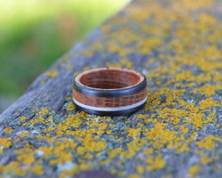 The Terra - Bound Whiskey Barrel and Antler Ring