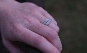 Stacking Antler Ring