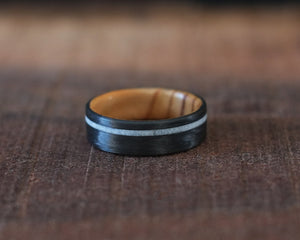 Peasant – Barnwood and Antler Ring