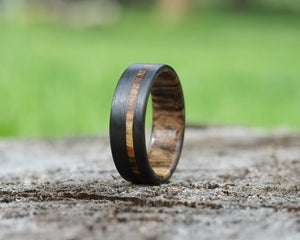 The Kodiak - Bound Spalted Maple Offset Ring