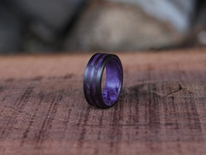 Amethyst - Purple Maple Ring