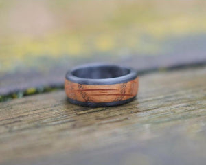 Whiskey Barrel Ring front view