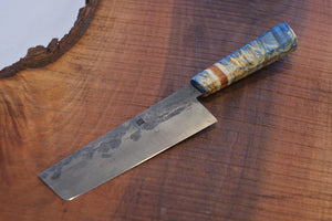 Nakiri - Blue Maple and Sawmill Steel