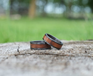 Grove – Black Walnut Wedding Band