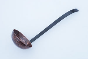 Hand Hammered Aged Copper Ladle