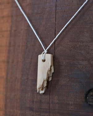 Raw Mammoth Ivory Pendant