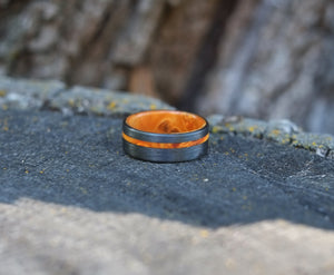 Ember - Orange Maple Ring