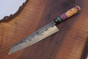 Gyuto - Maple Burl and Resin