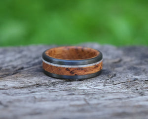 Calla - Rum Barrel and Antler Ring