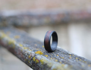The Grove – Black Walnut Wedding Band